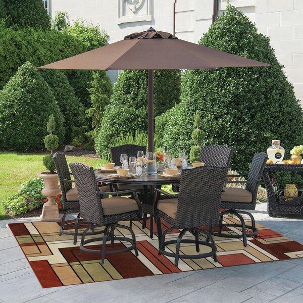 Ambrose Gold/Green Indoor/Outdoor Area Rug by Red Barrel Studio
