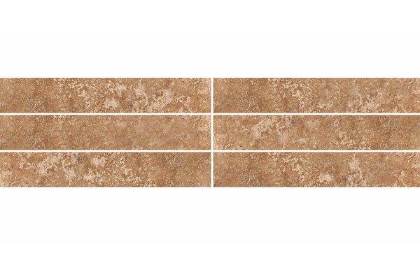 2 x 12 Travertine Field Tile in Walnut Honed by Parvatile