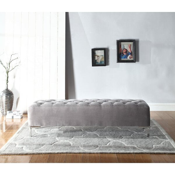 Lansford Upholstered Bench by House of Hampton