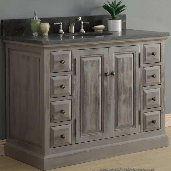 49 Single Bathroom Vanity Set by InFurniture