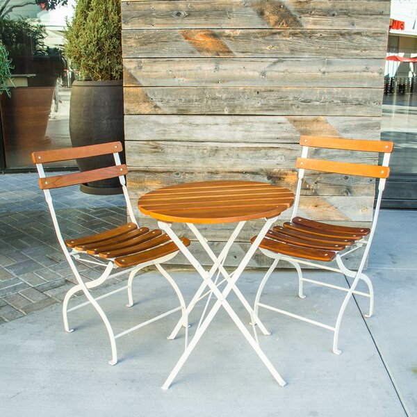 Uptown 3 Piece Bistro Set by Innova Hearth and Home