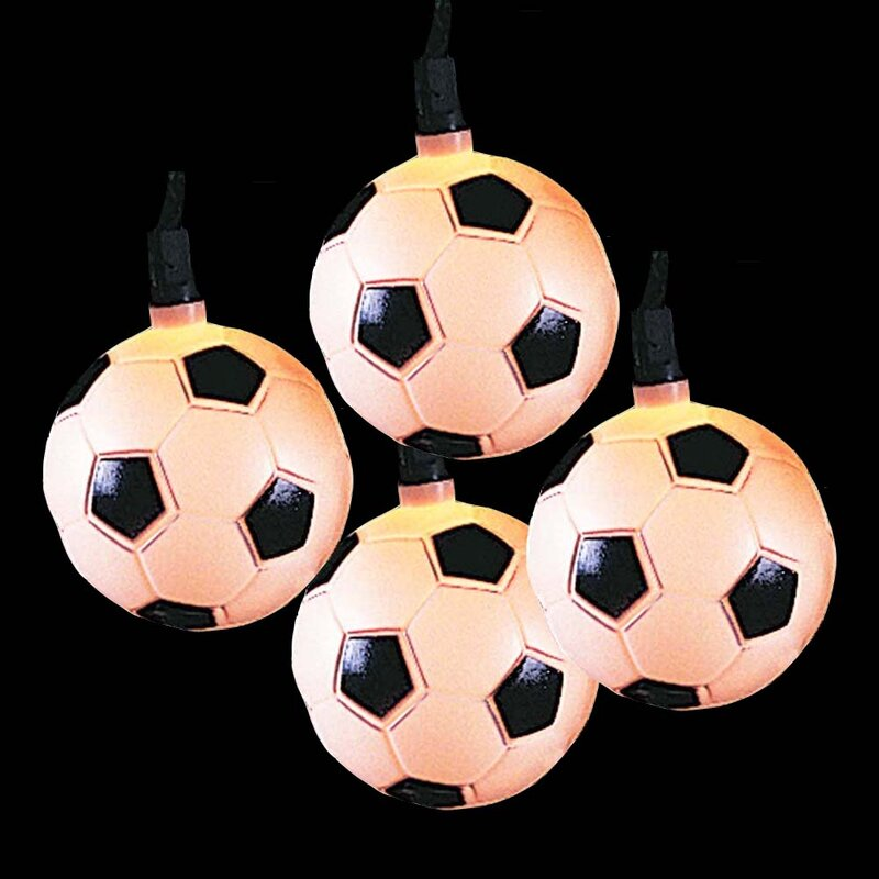 Soccer Ball 10 Light String Lights