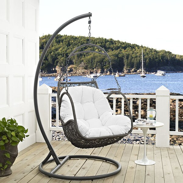 Arbor Swing Chair with Stand by Modway