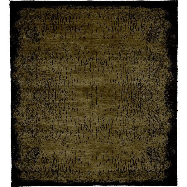 One-of-a-Kind Nate Hand-Knotted Traditional Style Brown 5' x 8' Area Rug