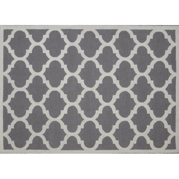 Aroa Cupola Hand-Tufted Gray Area Rug by DecorShore
