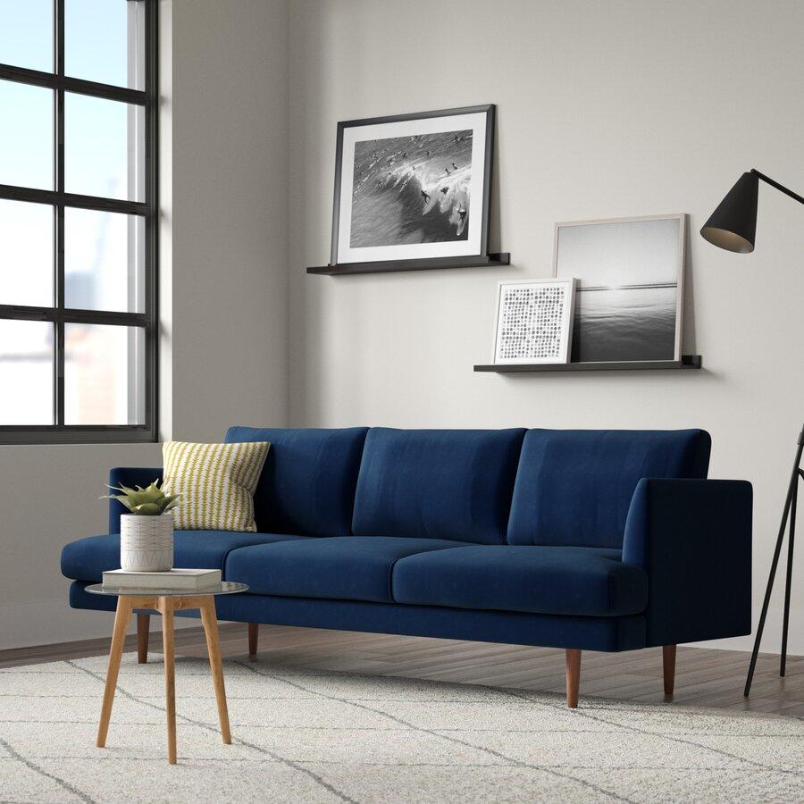 Jase 84'' Velvet Sofa