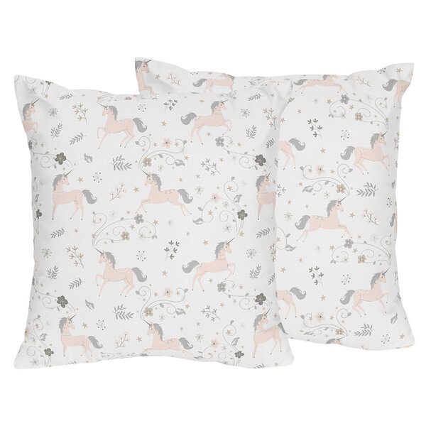 Unicorn Pillows (Set of 2) by Sweet Jojo Designs