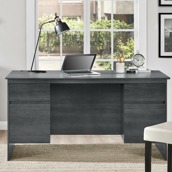 Elks Executive Desk by Wrought Studio