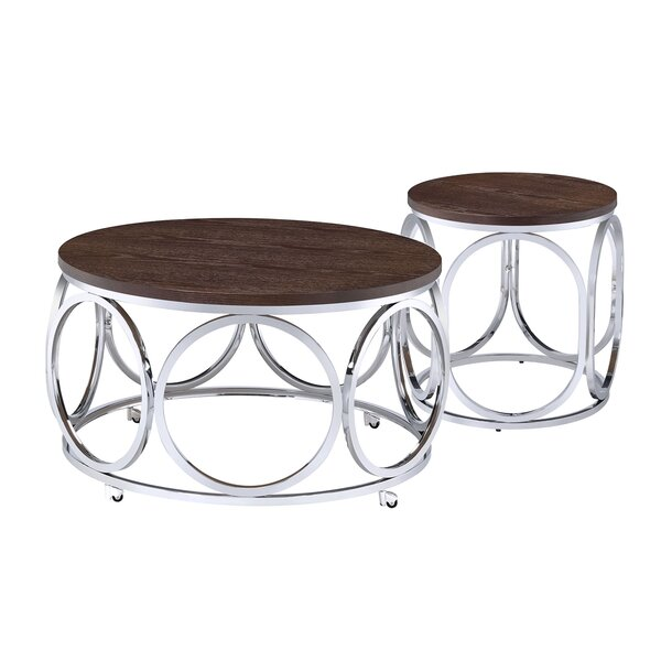 Gahanna 2 Piece Coffee Table Set by Modern Rustic Interiors