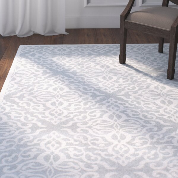 Shoals Silver Area Rug by Darby Home Co