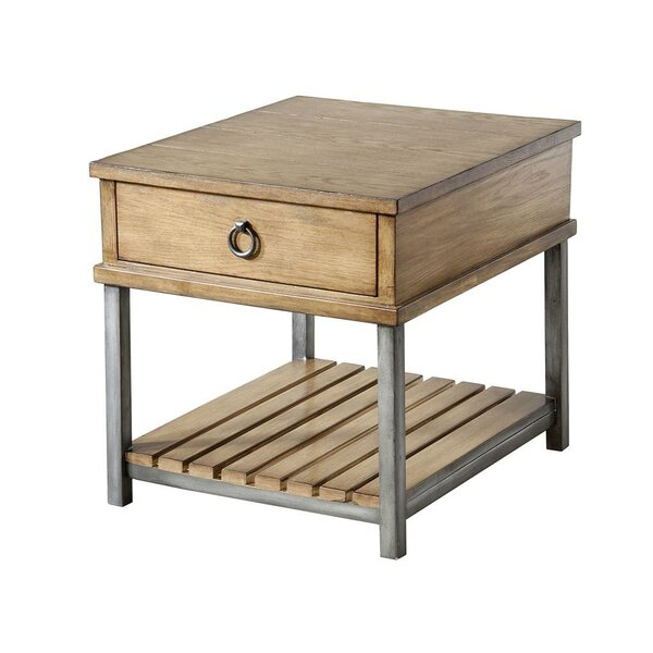 Batterson End Table By Gracie Oaks