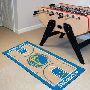 NBA - Golden State Warriors NBA Court Runner Doormat by FANMATS