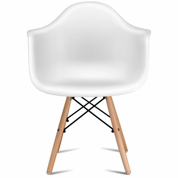 Chyna Mid Century Modern Dining Chair (Set of 2) by Wrought Studio