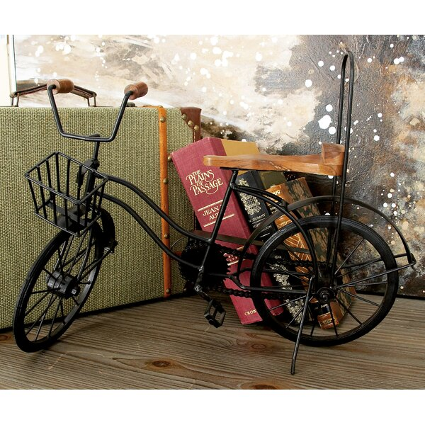 Metal and Wood Model Bicycle by Cole & Grey