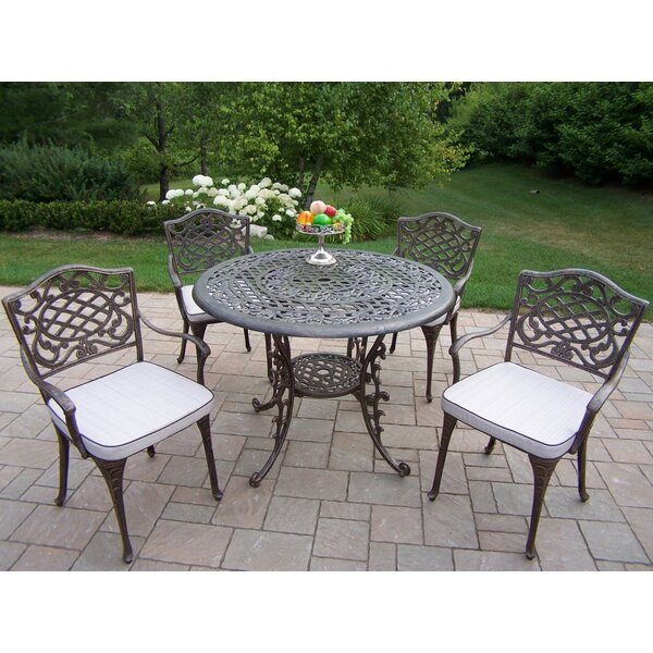 Mcgrady Dining Set with Cushions by Astoria Grand