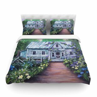Ivy Cottage Again by by Cyndi Steen Featherweight Duvet Cover