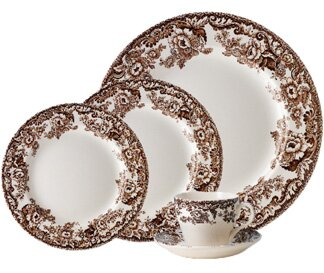 Delamere 5 Piece Place Setting, Service for 1 by Spode