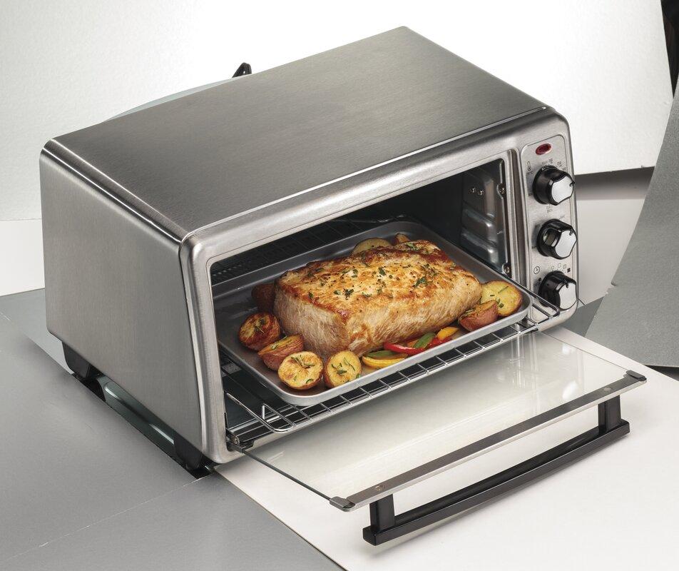 Hamilton Beach 6 Slice Toaster Oven & Reviews
