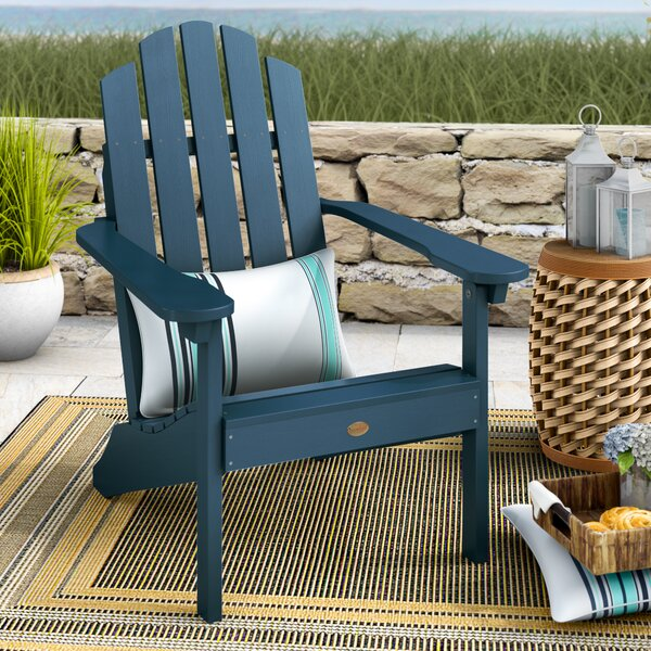 Amiya Classic Adirondack Chair by Breakwater Bay