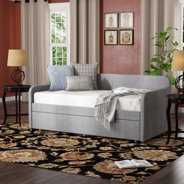Plunkett Twin Daybed With Trundle By Andover Mills