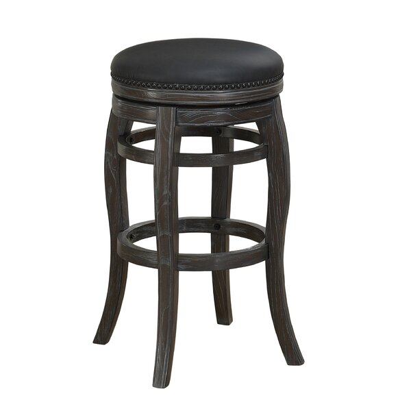 Edensor 26 Swivel Bar Stool by Loon Peak