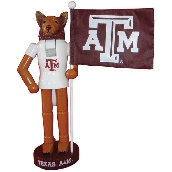 NACC Texas A&M Mascot Flag Nutcracker by Santa's Workshop