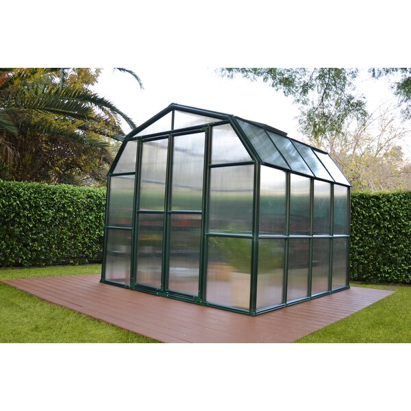 Grand Gardener 2 Twin Wall 8 Ft. W x 8 Ft. D Greenhouse by Rion Greenhouses