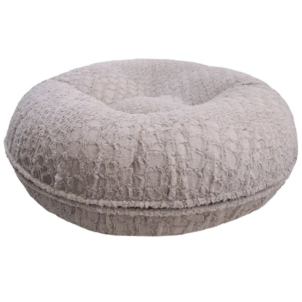 Bagel Serenity Bolster Dog Bed by Bessie and Barnie