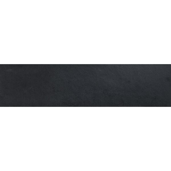 Montauk 6 x 24 Natural Stone Field Tile in Black by MSI