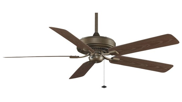 60 Edgewood Deluxe 5 Blade Outdoor Ceiling Fan by Fanimation
