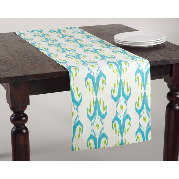 Dillinger Ikat Table Runner by Bungalow Rose