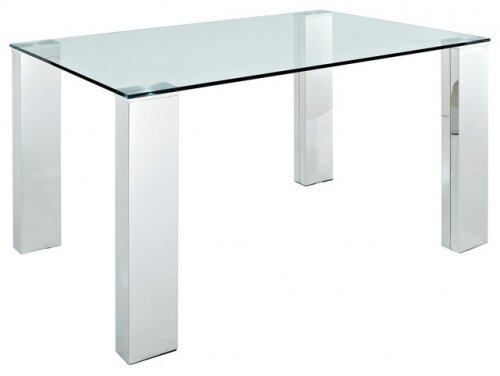Eseli Rectangle Glass Pub Table by Orren Ellis Orren Ellis