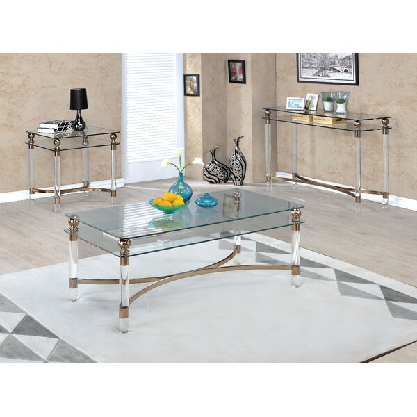 Augusto 3 Piece Coffee Table Set By Willa Arlo Interiors