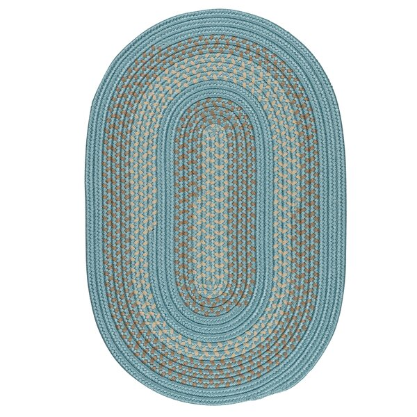 Knudtson Federal Blue Indoor/Outdoor Area Rug by Alcott Hill