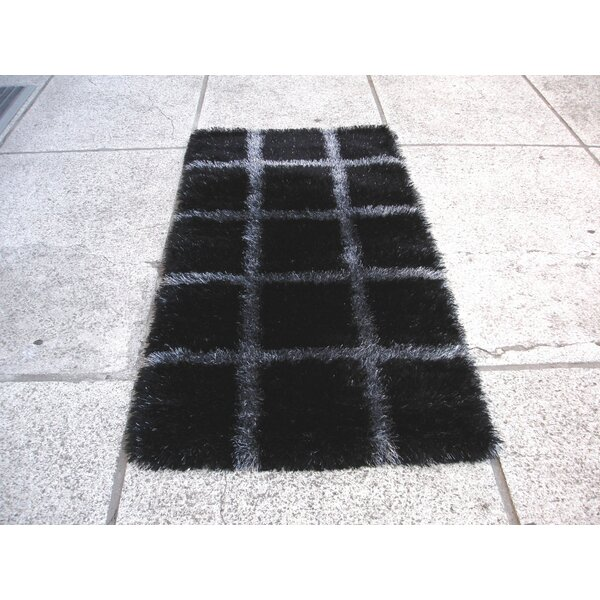 Backpocket Black/Grey Rug by Red Barrel Studio