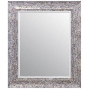 Williston Forge Debbie Scoop Framed Beveled Accent Mirror