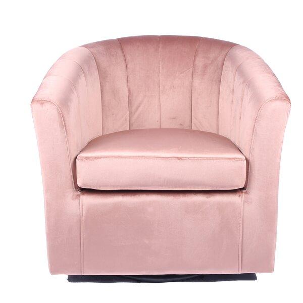 Mccloskey Swivel Barrel Chair by Mercer41