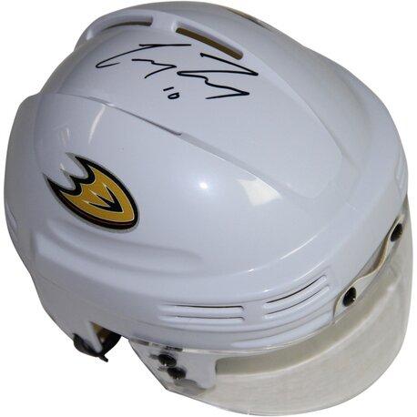 Decorative Corey Perry Signed Anaheim Ducks Logo Mini Helmet by Steiner Sports