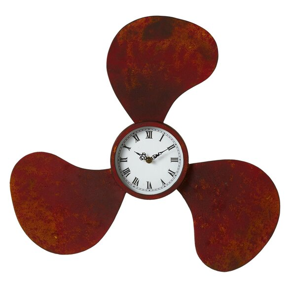 Distressed Wall Clock by Breakwater Bay