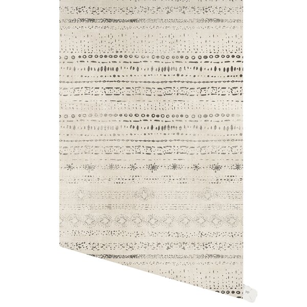 Elberton 48 L x 24 W Paintable Peel and Stick Wallpaper Panel by Bungalow Rose