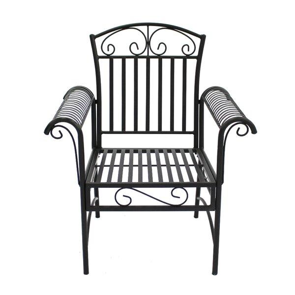 Joleen Patio Dining Chair (Set of 2) by Fleur De Lis Living