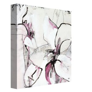 'Jesting IV' by Leila Graphic Art on Wrapped Canvas by Portfolio Canvas Decor