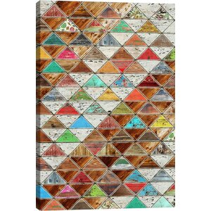 'Love Pattern' by Diego Trigall Graphic Art Print by East Urban Home