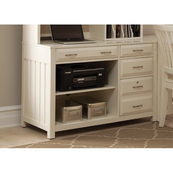 Nicolette Credenza Desk by Darby Home Co