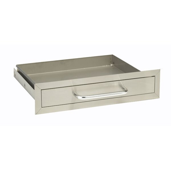 Stainless Steel Single Drawer by Bull Outdoor Products