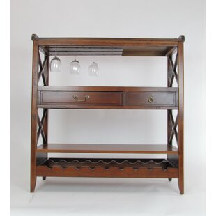 stylist kitchen table with wine storage. Clement Console Table with Wine Rack  Wayfair