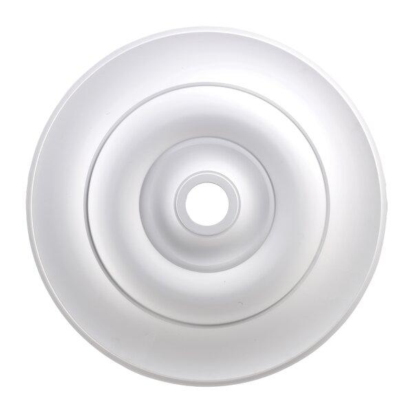 31.5 Apollo Medallion in White by Landmark Lighting