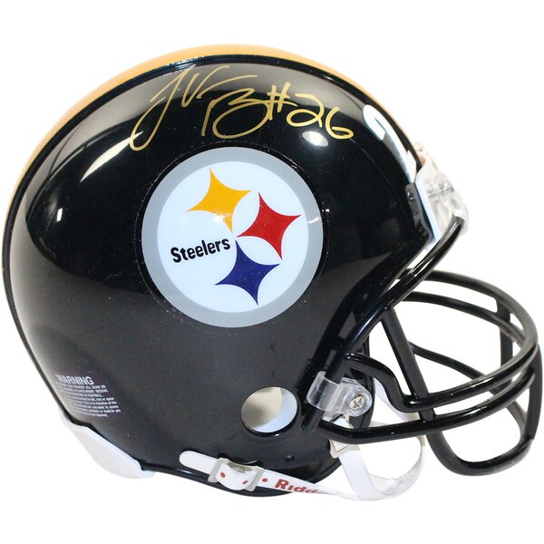 NFL Decorative LeVeon Bell Signed NFL Pittsburgh Steelers Mini Helmet by Steiner Sports