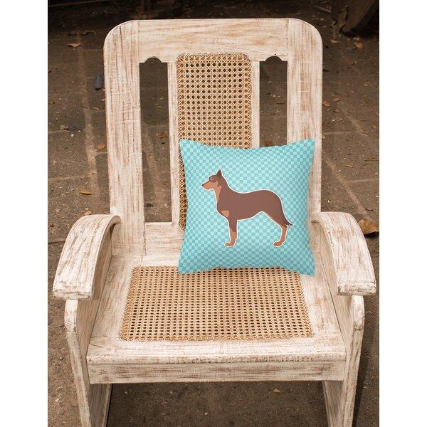 Australian Kelpie Indoor/Outdoor Throw Pillow by East Urban Home