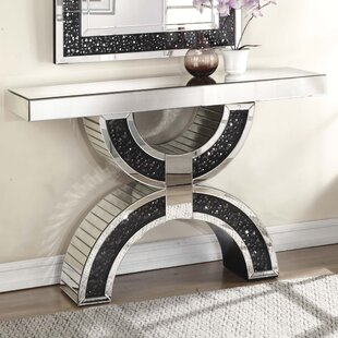 Blakes Rectangle Mirrored Console Table